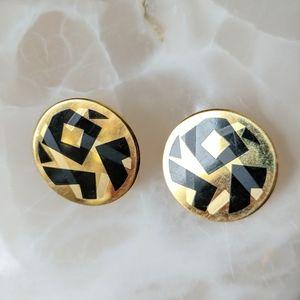 AVON Vintage Geometric Earrings
